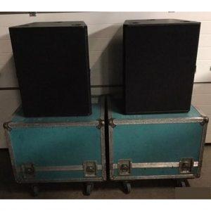KS Audio – TW MK1 Subs Includes Flightcase