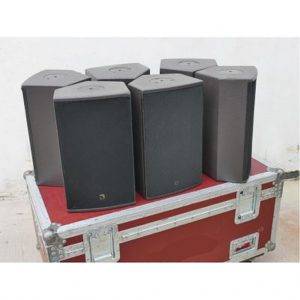 L'Acoustics MTD 108a – Package of four in quad case
