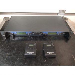 Sennheiser EW550D Package with belts