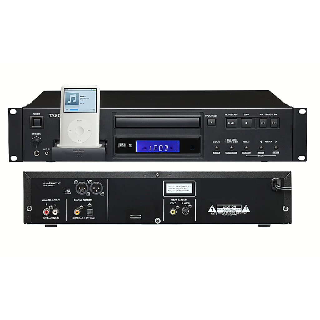 Tascam - CD-200 iB CD Player/iPod Dock for sale
