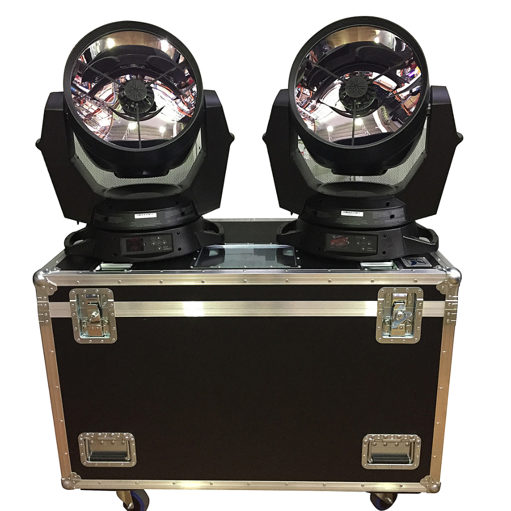 Vari-Lite Set of 6 VL6000 Inc Double Amptown Flightcase