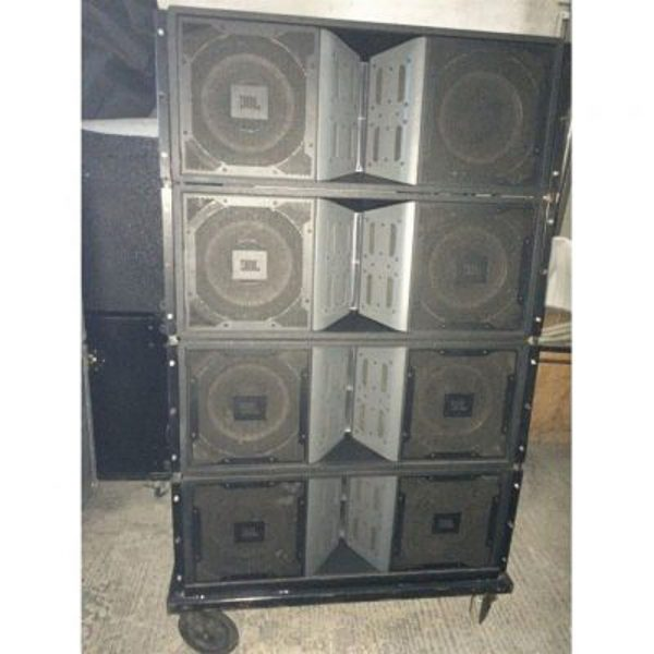 8 x JBL Vertec-VT4888DP-AN In Great Condition