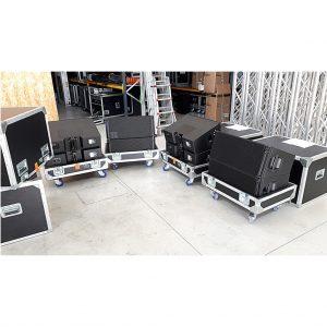 D&B Audiotechnik V8 series – 4*V8 Pack with 1*V Flying adapter, sound systems