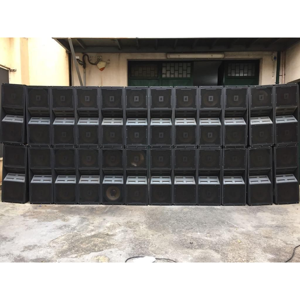 IN STOCK. 24 JBL VERTEC VT 4889 WITH Dollies & Covers + 6 ARRAY FRAME