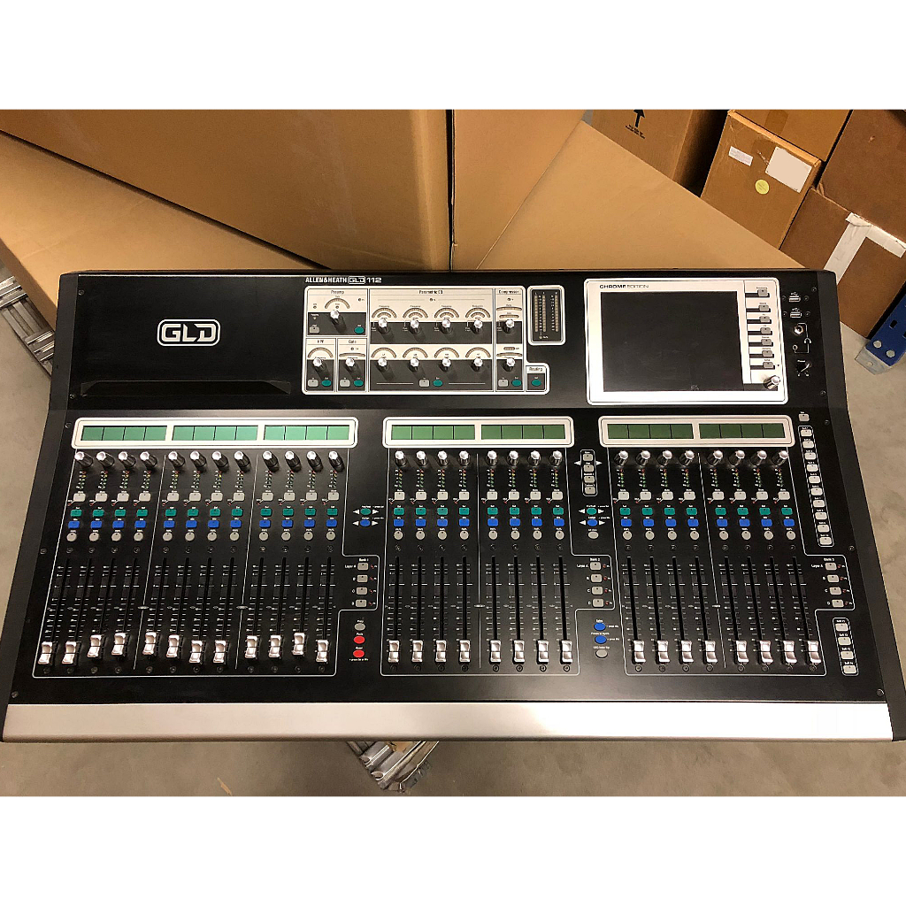 Allen & Heath GLD Digital Mixer Driver