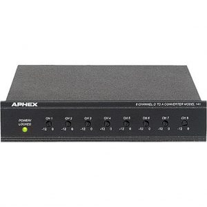 Aphex 141 8 Channel D to A Converter