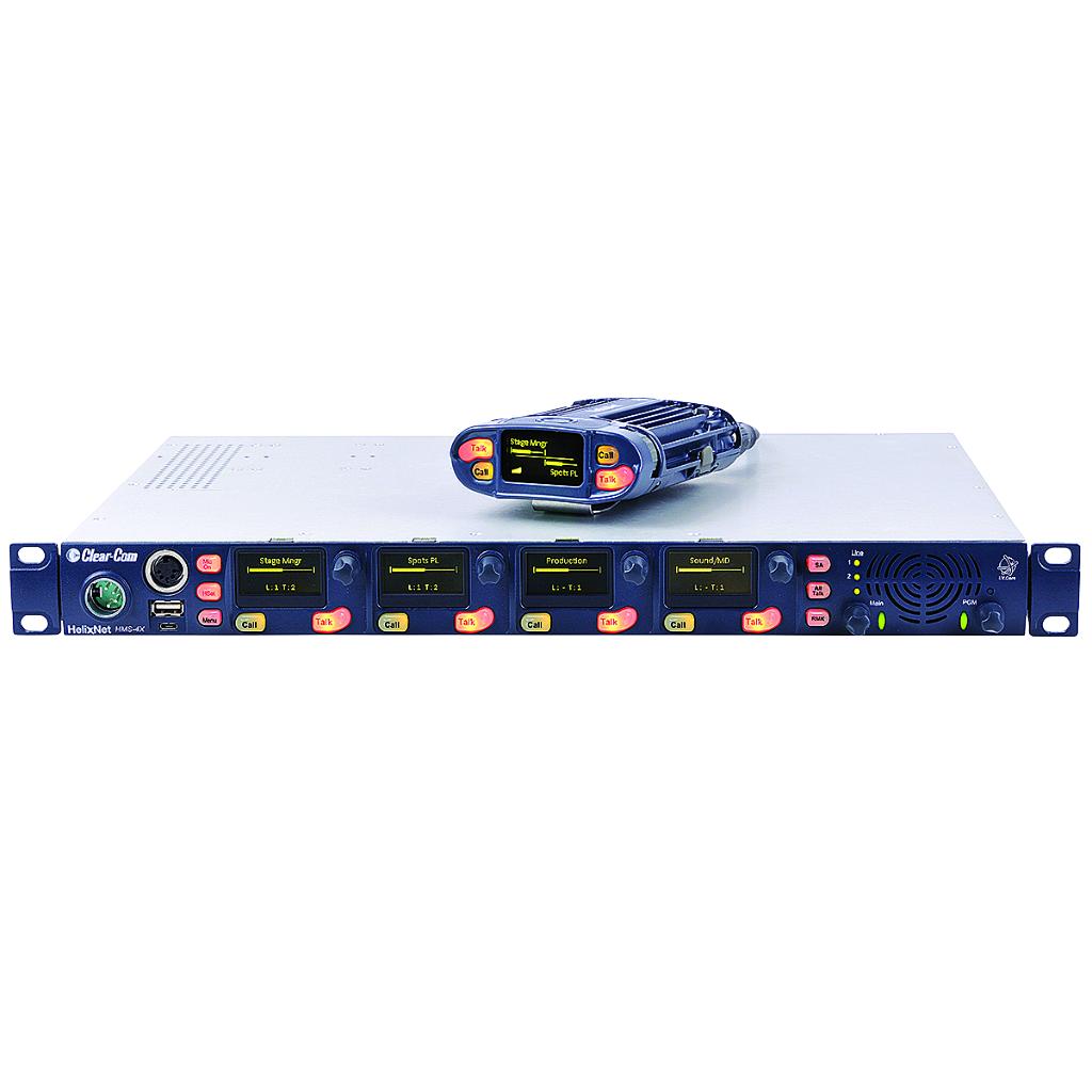 Clearcom Helixnet Complete Intercom Package