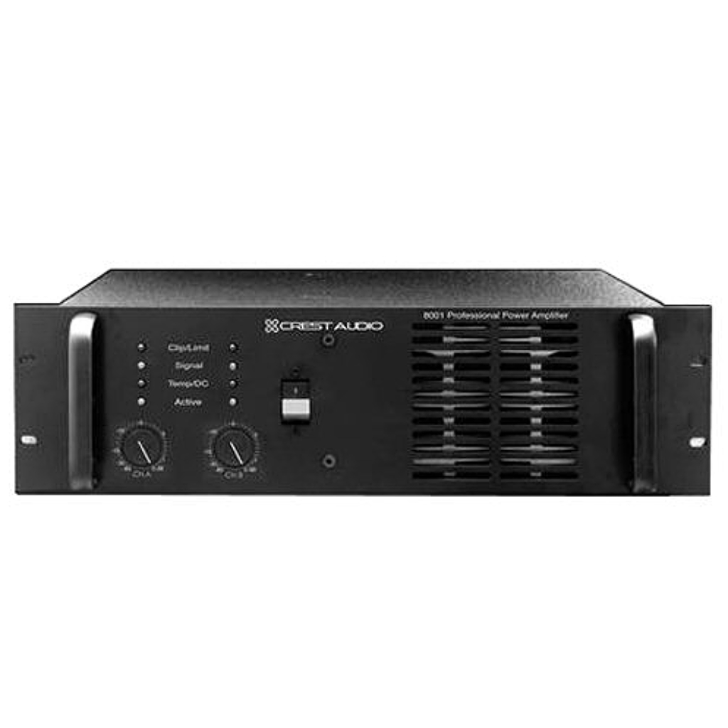 Crest Audio 8001 Amplifier