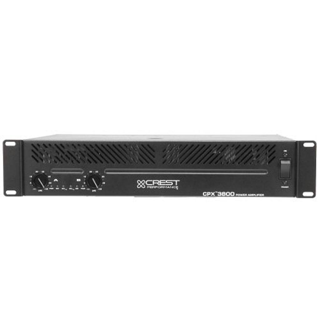 Crest Audio CPX3800 Power Amplifier