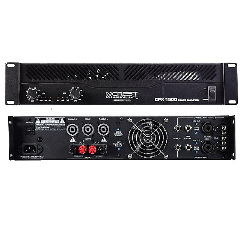 Crest CPX-1500 Amplifier