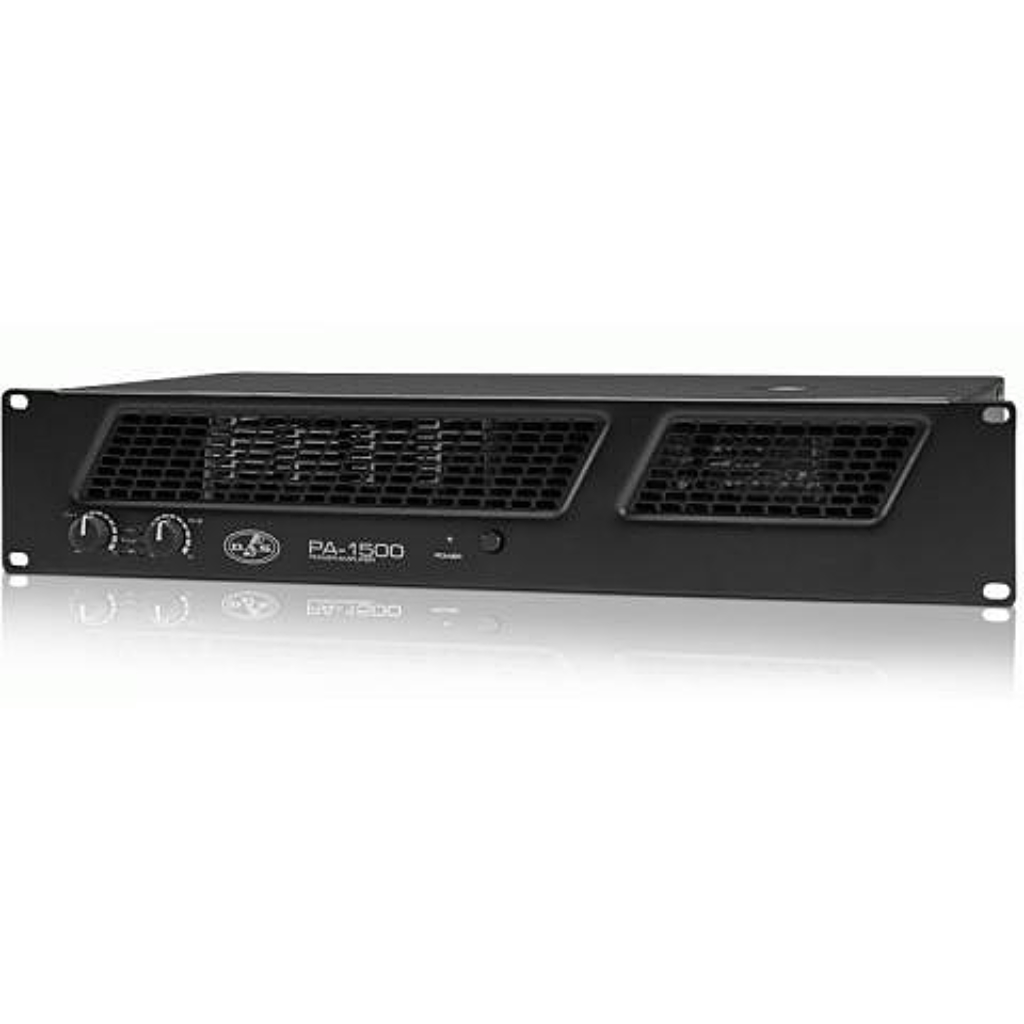 DAS Audio PA-1500 Stereo Amplifier