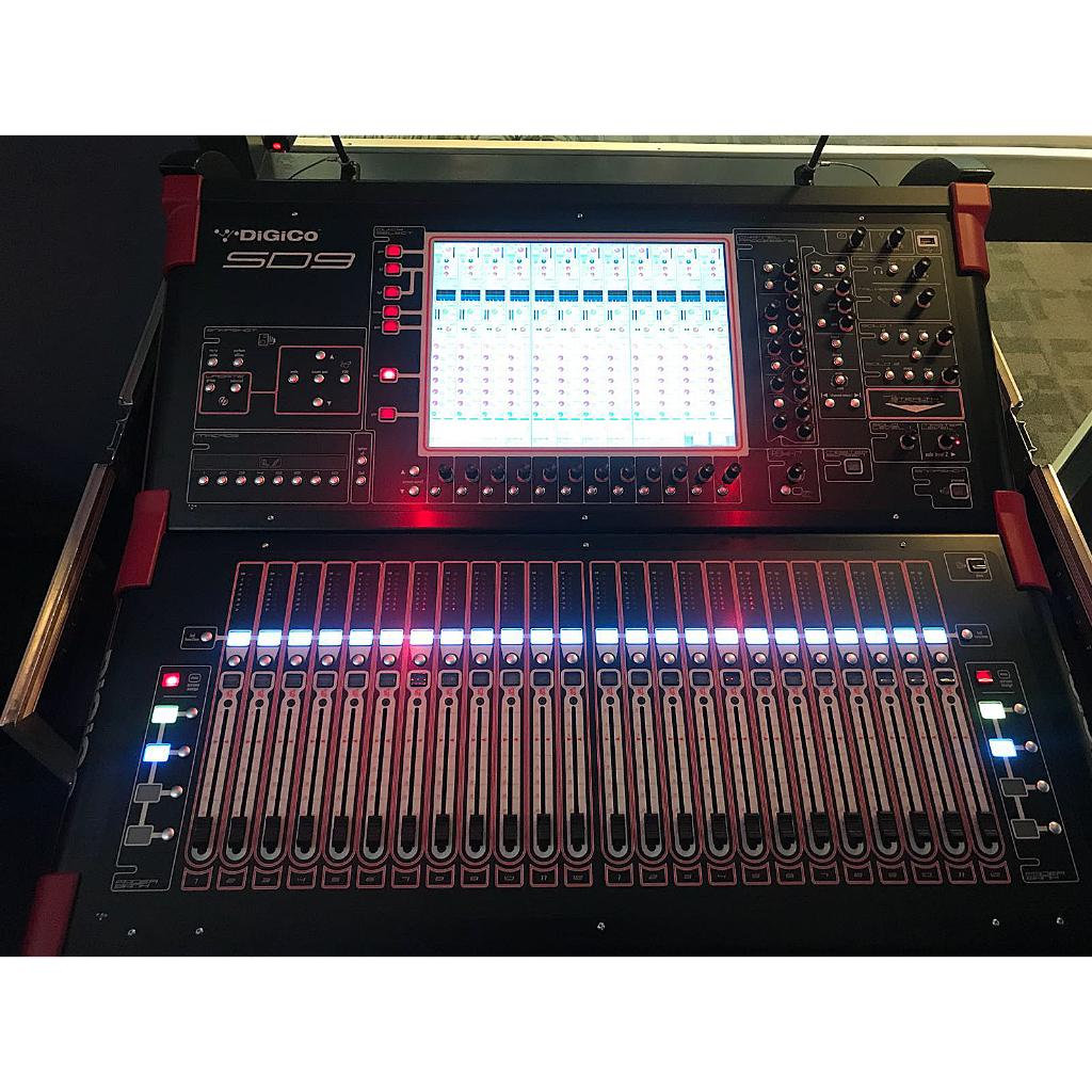 DiGiCo SD9 Digital Mixing System