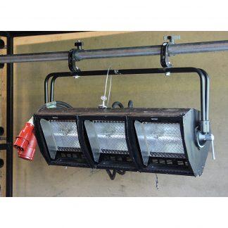 James Thomas Engineering D1001P 3 Cell Lighting Fixture
