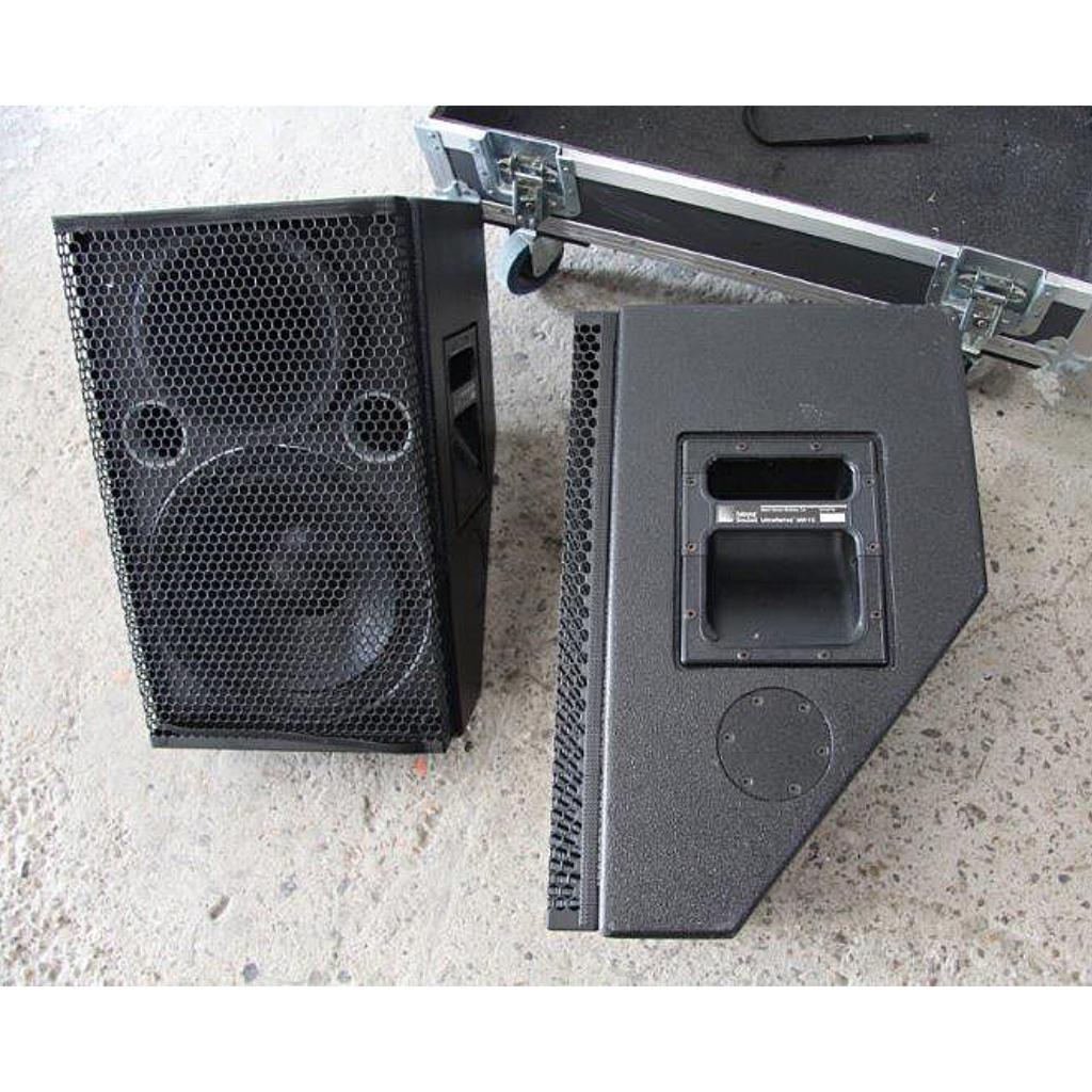 for sale used meyer sound um 1c speakers set of two. Black Bedroom Furniture Sets. Home Design Ideas