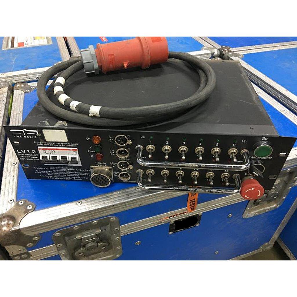 Outboard LV12 12-Way Motor Control