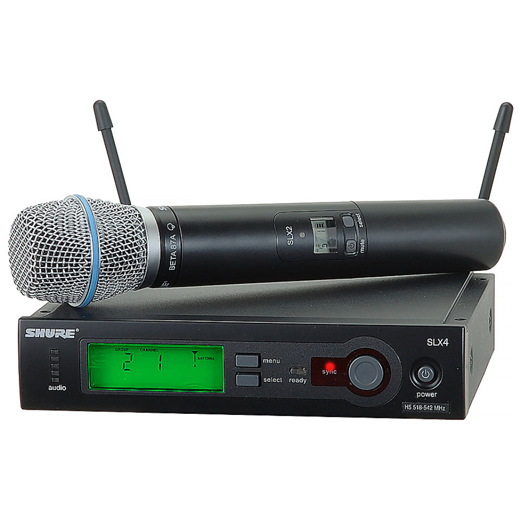 Shure SLX24/BE58 SLX Handheld System