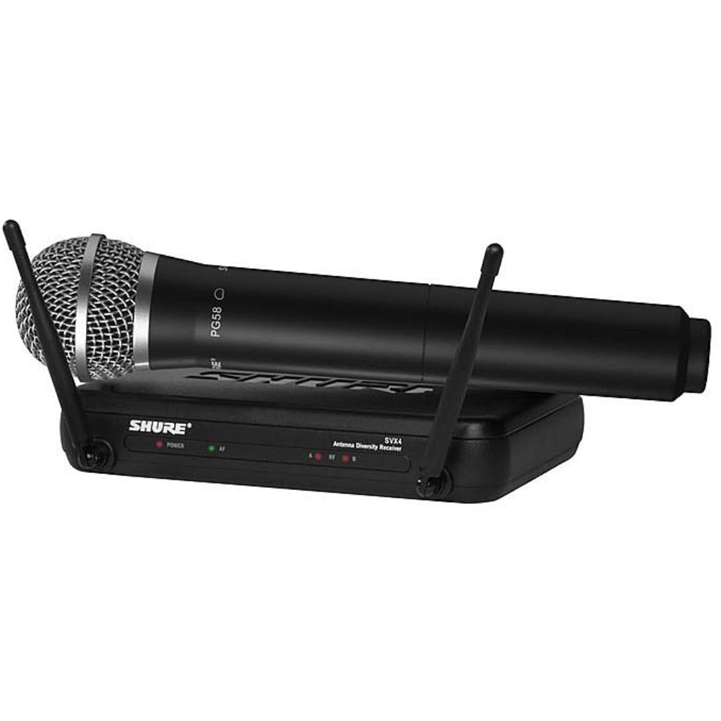 Shure SVX Handheld System - SV24/PG58