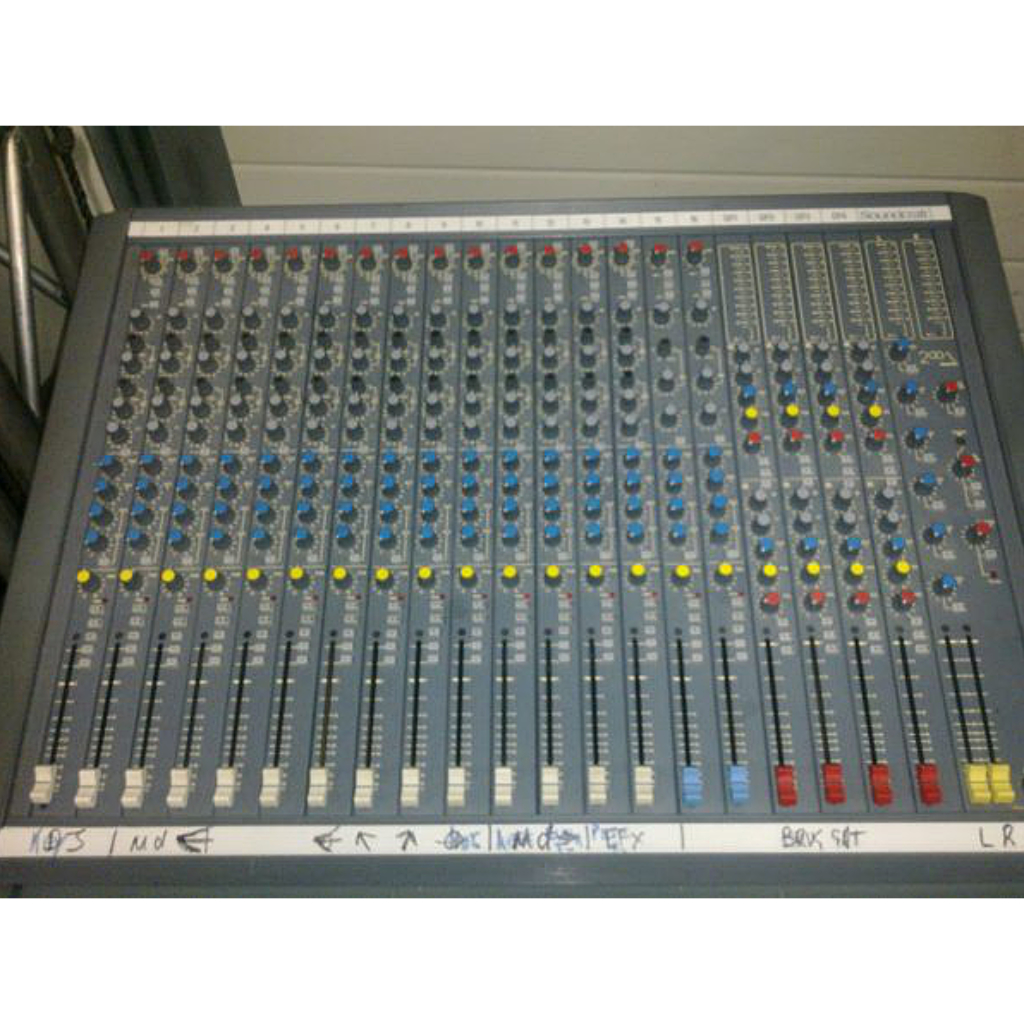 Soundcraft Delta 12 Audio Mixer