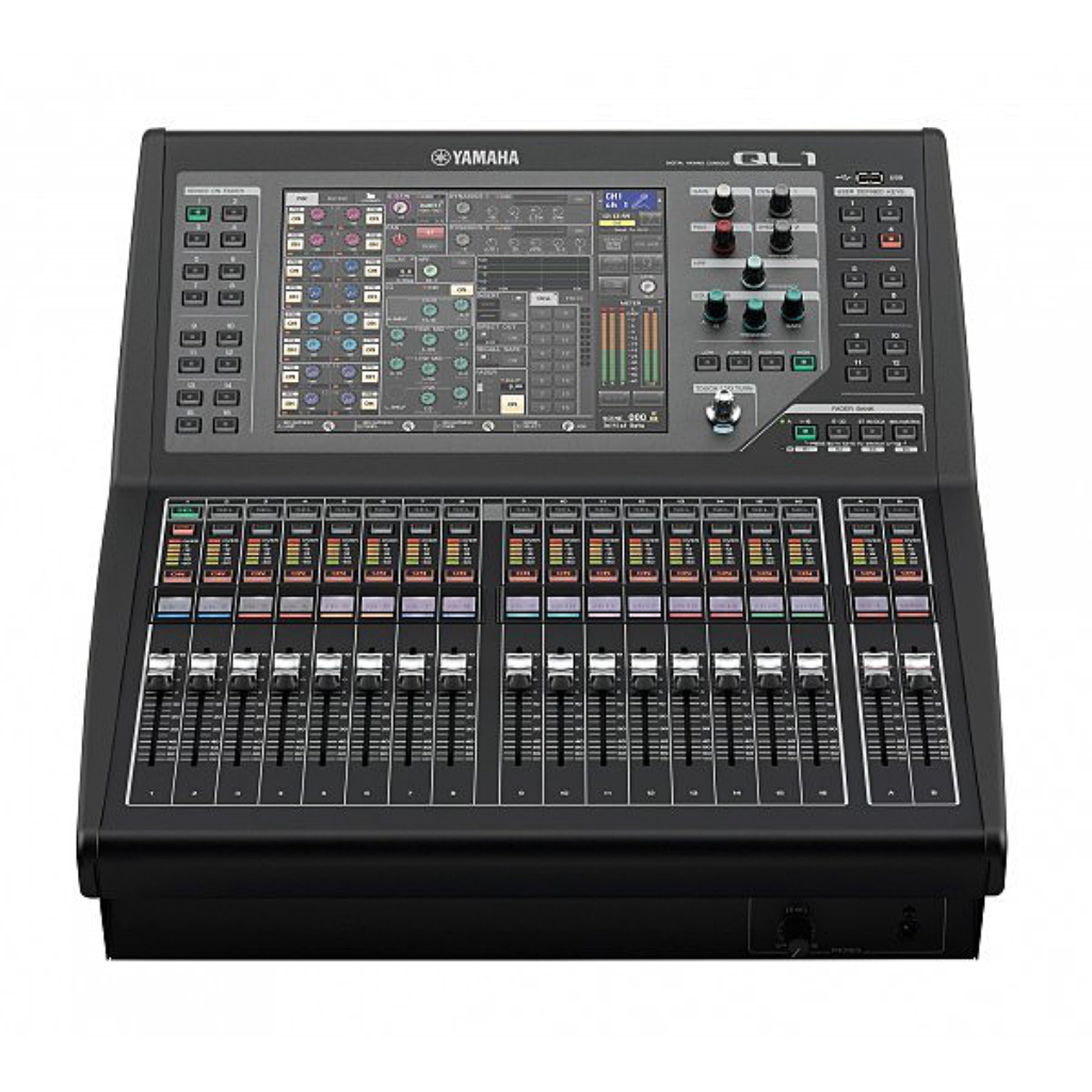 new yamaha ql1 mixing consoles in perfect condition. Black Bedroom Furniture Sets. Home Design Ideas