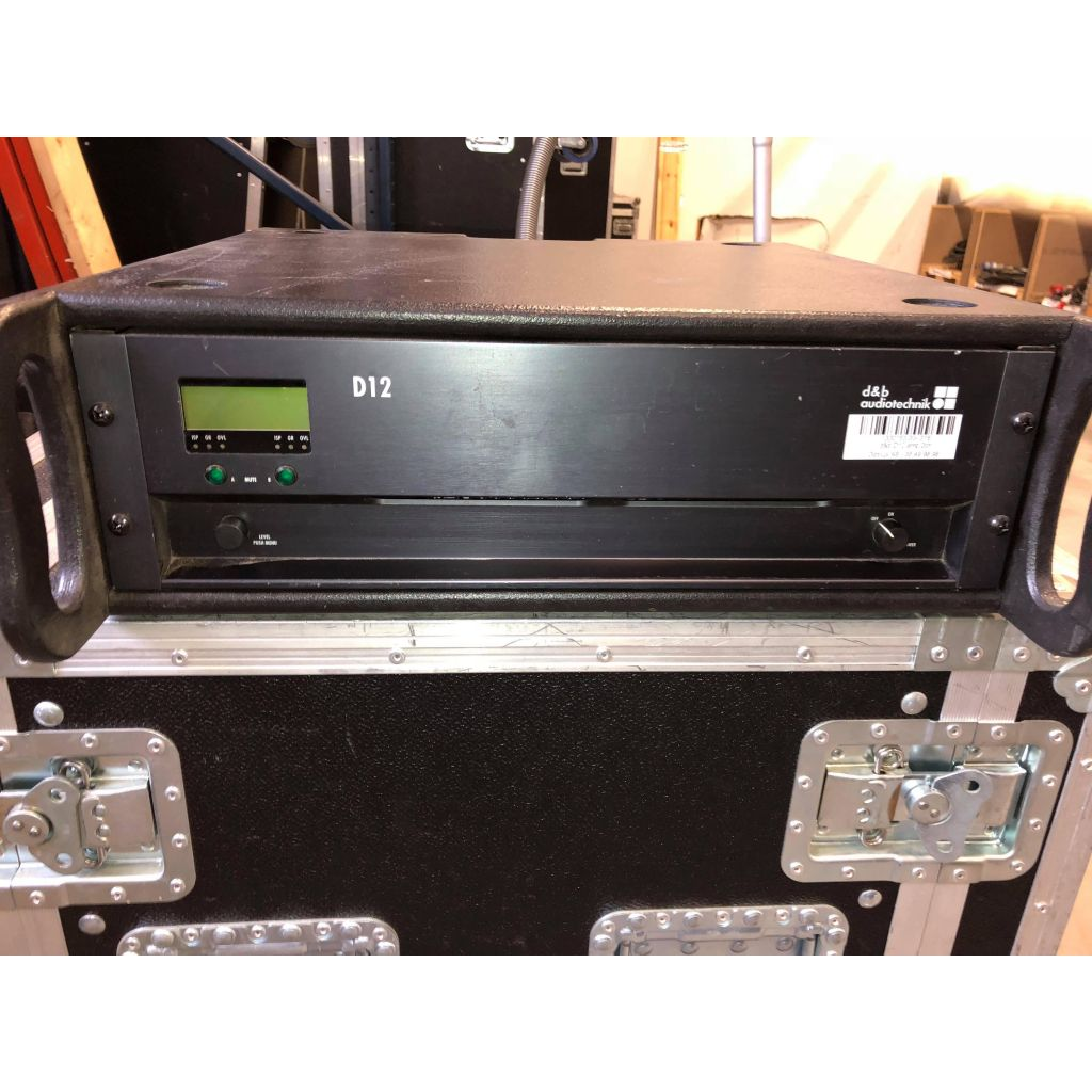 Used d&b Audiotechnik D12 amplifier