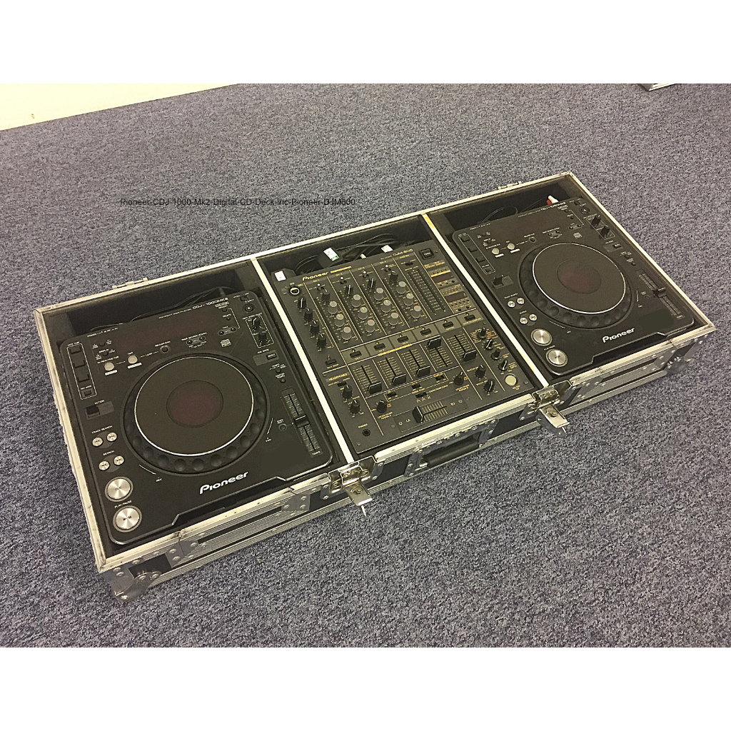 pioneer cdj 1000 mk2 pioneer djm600 set buy now from 10kused. Black Bedroom Furniture Sets. Home Design Ideas