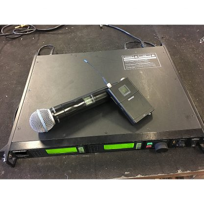 Shure UR4D+ Double Receiver P8
