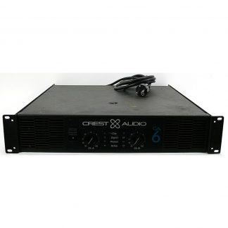 Used Crest Audio CA6 Power Amplifier