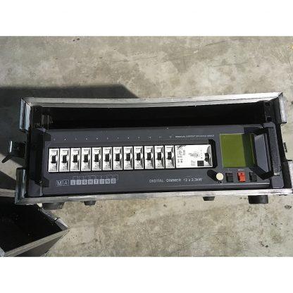 MA Lighting Digital Dimmer FI / RCD 12x 2.3 kW