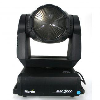 Used Martin Mac 2000 Wash XB Lighting Fixture