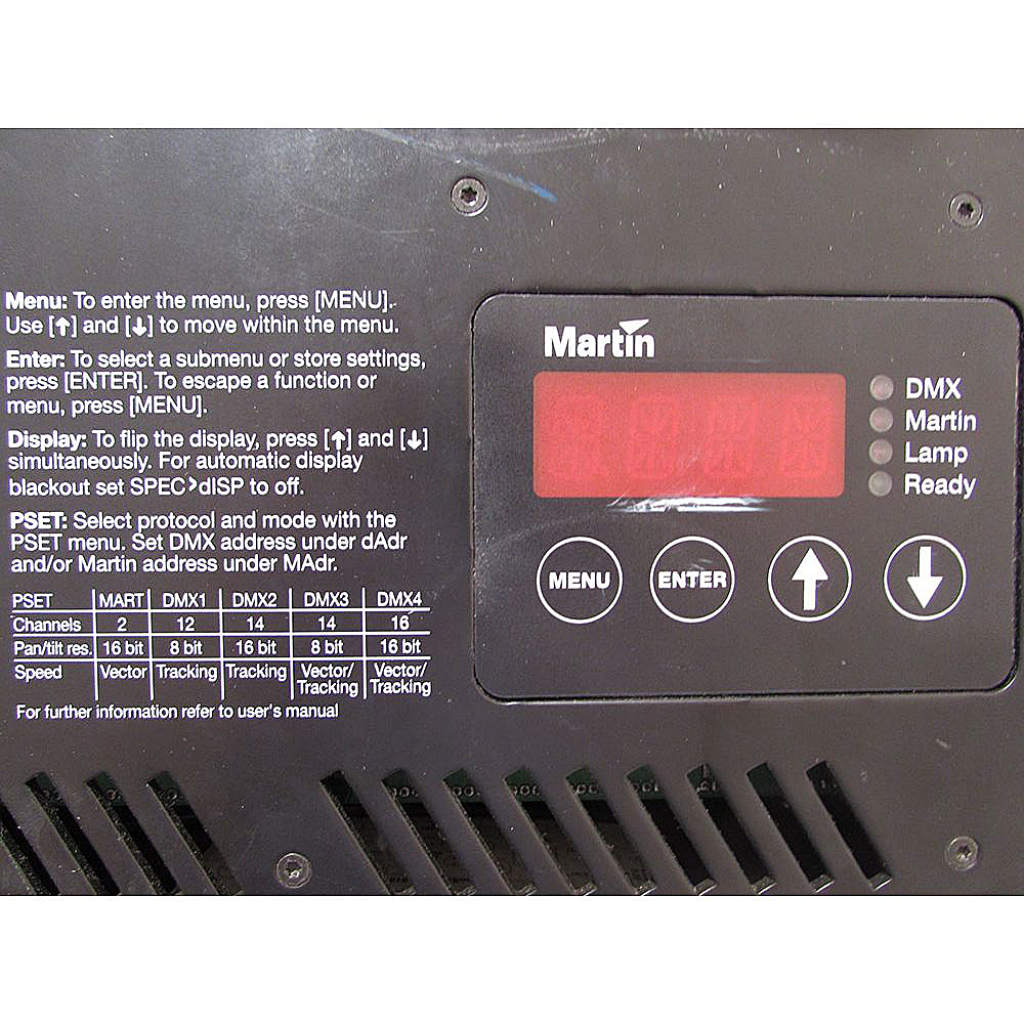 Martin Pro 918 Roboscan 575W MSD – Buy now from 10Kused