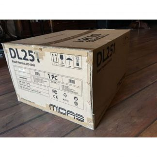 New Midas DL251 Digital Mixing Console