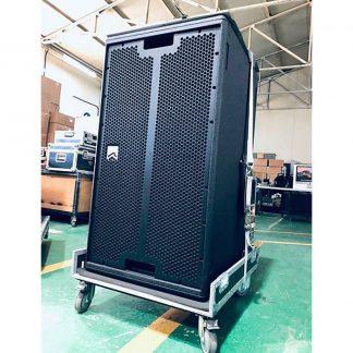 Used Outline MANTAS 28 Line array loudspeaker package