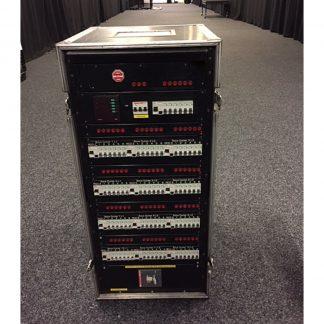 SES Distro Rack 13 x 100A /30ma RCCB – 78 x 10A MCB