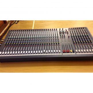 Used Soundcraft LX7ii 32 analogue mixing console