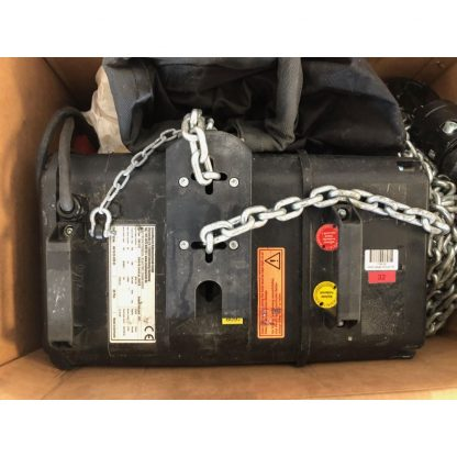 Used Chainmaster D8+ 500kg with 24m chain and new certification