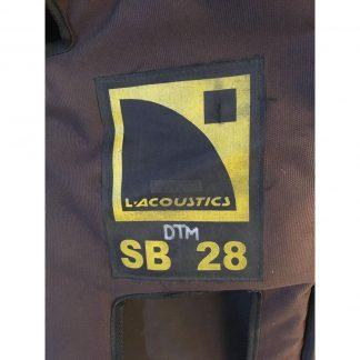 L-Acoustics SB28 Cover