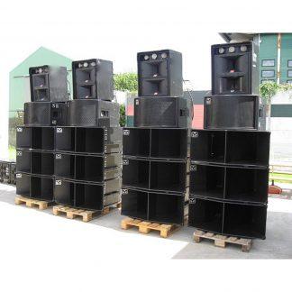 Used Martin Audio / JBL Loudspeaker Package