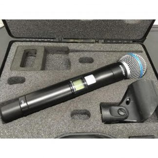 Used Shure UR2 J5E Handheld Transmitter w/RPW118 (Beta58) Head