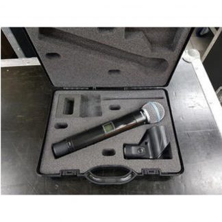 Shure UR2 P8 w/RPW118 (Beta58) Head