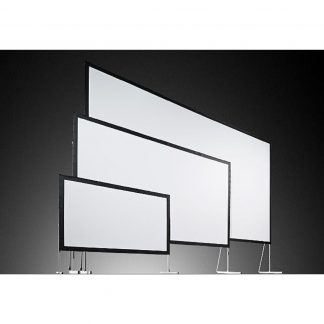 Used AV Stumpfl Fastfold Screen 6ft X 4ft 6″ Mobile Projection Screen