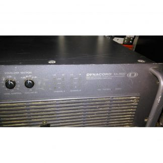 Used Dynacord XA2600 System Amplifier