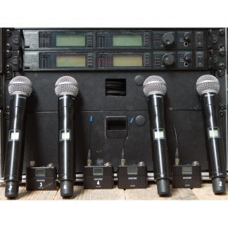 Shure UHF-R Four Channel System P8