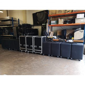 Used dB Technologies K5 and KS10 Subwoofer Package