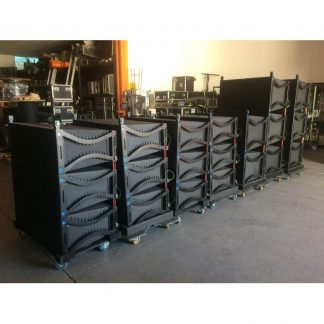 12 XLC127Plus + 8 XLC118 + amplifier racks