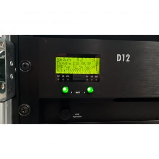 Used d&b Audiotechnik D12 amplifier