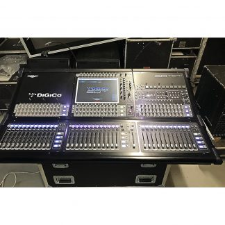Used DiGiCo SD10 56-32 HMI Digital Mixer