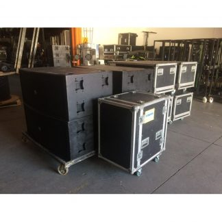 Electro Voice XLE181 complete package with XSub and amps