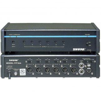 Used Shure FP16A Distribution Amplifier