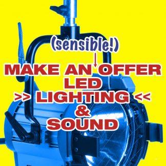 Make An Offer – LED, LIGHTING, SOUND