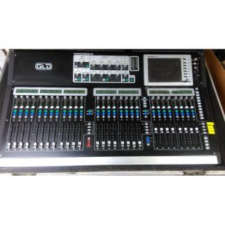 Allen and Heath GLD digital mixer and stageboxes